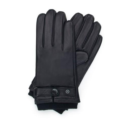 Rękawiczki męskie, czarny, 39-6-704-1-L, Zdjęcie 1