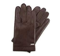 Rękawiczki męskie, ciemny brąz, 39-6-706-B-XL, Zdjęcie 1