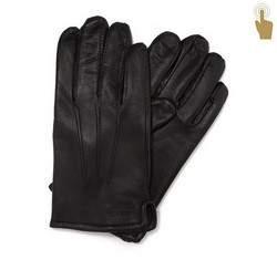 Rękawiczki męskie, czarny, 39-6-908-1-L, Zdjęcie 1