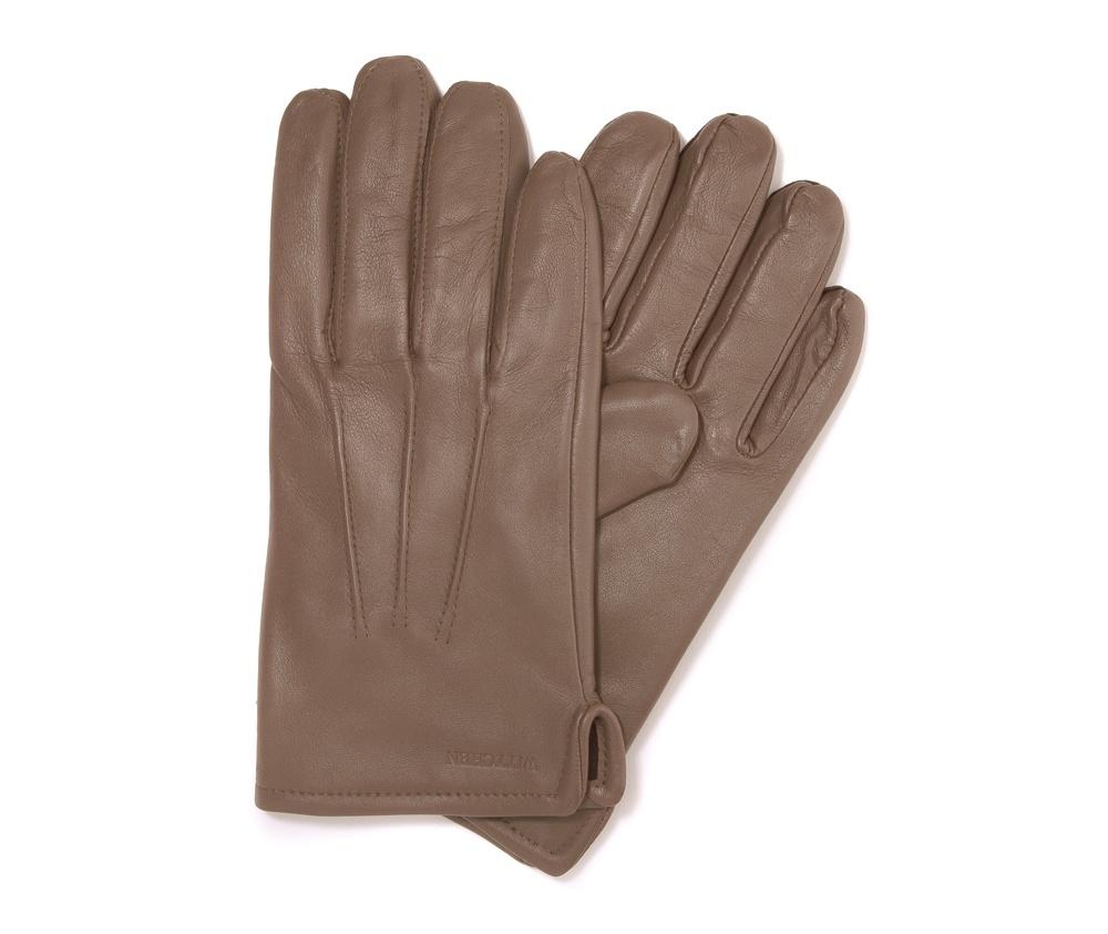 Перчатки мужские кожаные Wittchen 39-6-308-0A, бежевыйПерчатки мужские кожаные<br><br>секс: мужчина<br>Цвет: бежевый<br>Размер INT: M