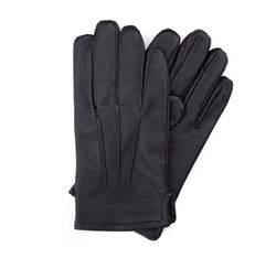 Перчатки мужские кожаные Wittchen 39-6-308-1, черный 39-6-308-1