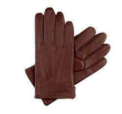 Rękawiczki męskie, brązowy, 39-6-308-6C-L, Zdjęcie 1