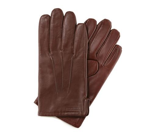 Rękawiczki męskie, brązowy, 39-6-308-6C-V, Zdjęcie 1