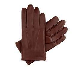 Rękawiczki męskie, Brązowy, 39-6-308-6C-X, Zdjęcie 1