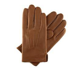 Rękawiczki męskie, Brązowy, 39-6-308-6-L, Zdjęcie 1