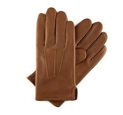 Rękawiczki męskie, Brązowy, 39-6-308-6-X, Zdjęcie 1