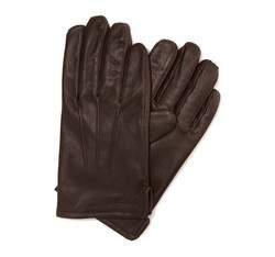 Rękawiczki męskie, Brązowy, 39-6-308-K-X, Zdjęcie 1