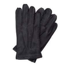 Перчатки мужские кожаные Wittchen 39-6-327-1, черный 39-6-327-1