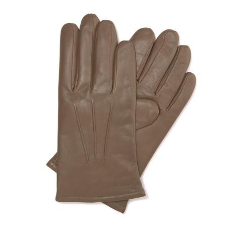 Rękawiczki męskie, ciemny  beż, 44-6-638-0A-V, Zdjęcie 1