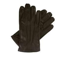Rękawiczki męskie, brązowy, 39-6-327-D-L, Zdjęcie 1