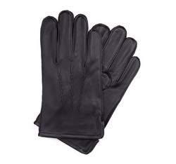 Rękawiczki męskie, czarny, 39-6-328-1-X, Zdjęcie 1