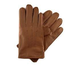 Перчатки мужские кожаные Wittchen 39-6-328-6, светло-коричневый 39-6-328-6
