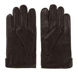 Rękawiczki męskie, ciemny brąz, 39-6-328-B-L, Zdjęcie 1