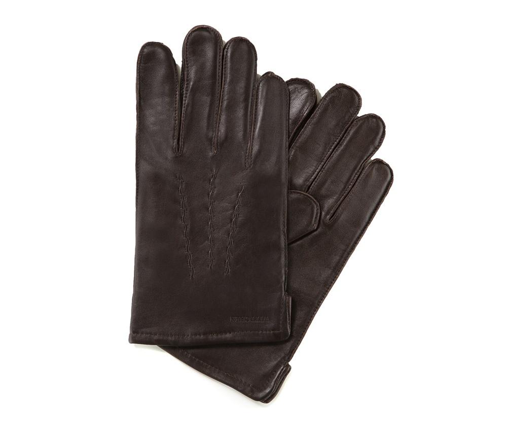 Перчатки мужские кожаныеПерчатки мужские кожаные<br><br>секс: мужчина<br>Цвет: коричневый<br>Размер INT: S