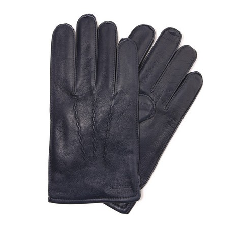 Rękawiczki męskie, śliwkowy, 39-6-328-GC-S, Zdjęcie 1