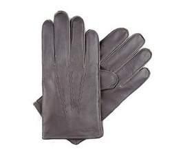 Rękawiczki męskie, szary, 39-6-328-S-S, Zdjęcie 1