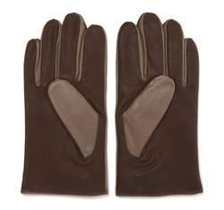 Rękawiczki męskie, beżowo - srebrny, 39-6-342-0A-X, Zdjęcie 1
