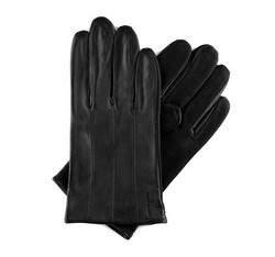 Перчатки мужские кожаные Wittchen 39-6-342-1, черный 39-6-342-1