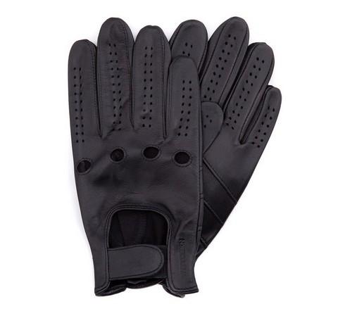 Rękawiczki męskie, czarny, 46-6-381-1-V, Zdjęcie 1