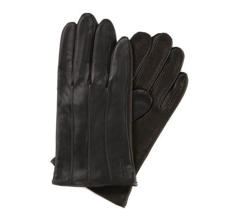 Rękawiczki męskie, czarny, 39-6-342-1-V, Zdjęcie 1