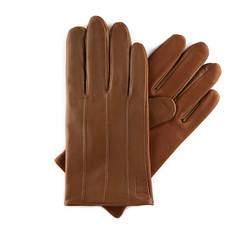 Rękawiczki męskie, Brązowy, 39-6-342-6-X, Zdjęcie 1