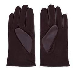 Men's gloves, dark brown, 39-6-342-B-L, Photo 1