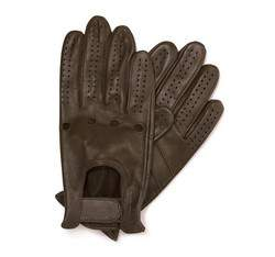 Rękawiczki męskie, brązowy, 46-6-381-DG-M, Zdjęcie 1
