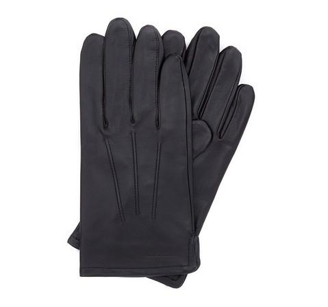 Rękawiczki męskie, czarny, 45-6-308-1-S, Zdjęcie 1