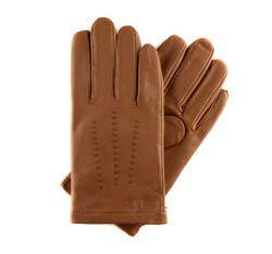 Rękawiczki męskie, Brązowy, 39-6-346-6-L, Zdjęcie 1
