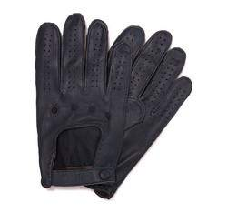 Перчатки мужские автомобильные кожаные 46-6-386-GC