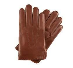 Rękawiczki męskie, koniak, 39-6-348-8-L, Zdjęcie 1