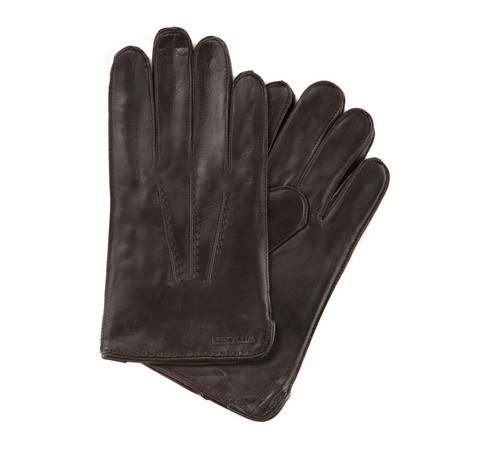Rękawiczki męskie, ciemny brąz, 39-6-348-B-L, Zdjęcie 1