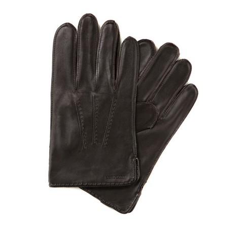 Rękawiczki męskie, ciemny brąz, 39-6-348-L-X, Zdjęcie 1