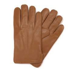 Rękawiczki męskie, jasny brąz, 39-6-348-L-M, Zdjęcie 1