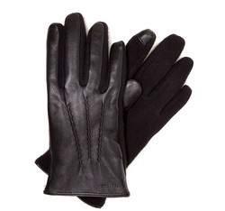 Rękawiczki męskie, czarny, 39-6-353-1-L, Zdjęcie 1