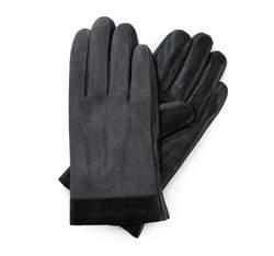 Rękawiczki męskie, czarny, 39-6-708-1-X, Zdjęcie 1