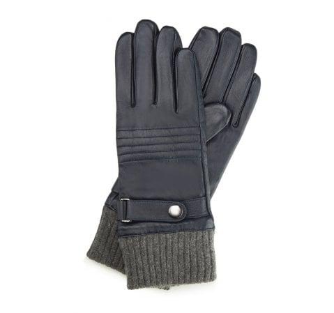 Rękawiczki męskie, granatowy, 39-6-705-GC-V, Zdjęcie 1