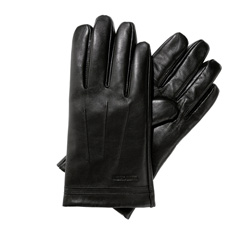 Men's gloves, black, 39-6L-343-1-M, Photo 1