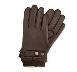 Перчатки мужские кожаные Wittchen 39-6-704-B, коричневый 39-6-704-B