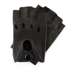 Перчатки женские автомобильные кожаные 46-6-389-1