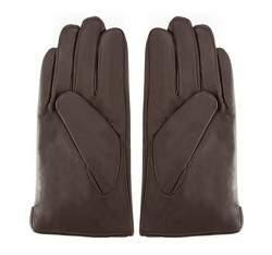 Men's gloves, dark brown, 39-6L-328-B-V, Photo 1