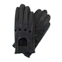 Men's gloves, black, 46-6L-381-1-M, Photo 1
