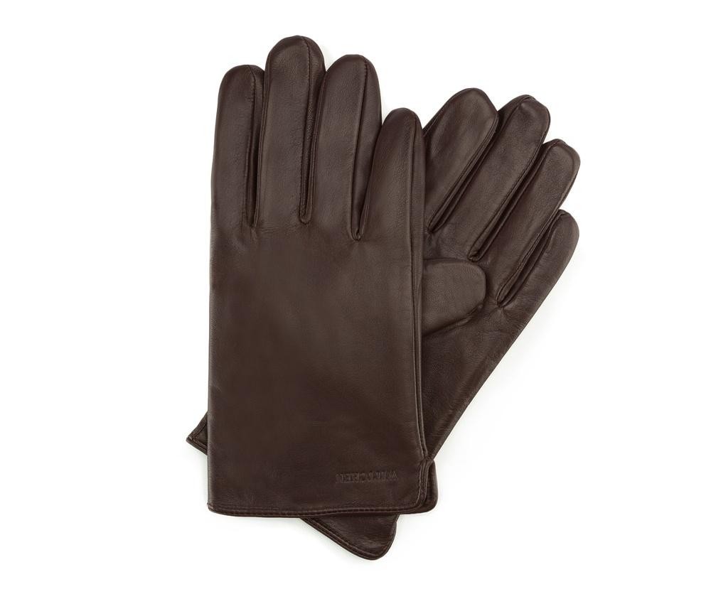 Перчатки мужские кожаные Wittchen 39-6L-300-B, коричневыйПерчатки мужские кожаные<br><br>секс: мужчина<br>Цвет: коричневый<br>Размер INT: M<br>материал:: Натуральная кожа
