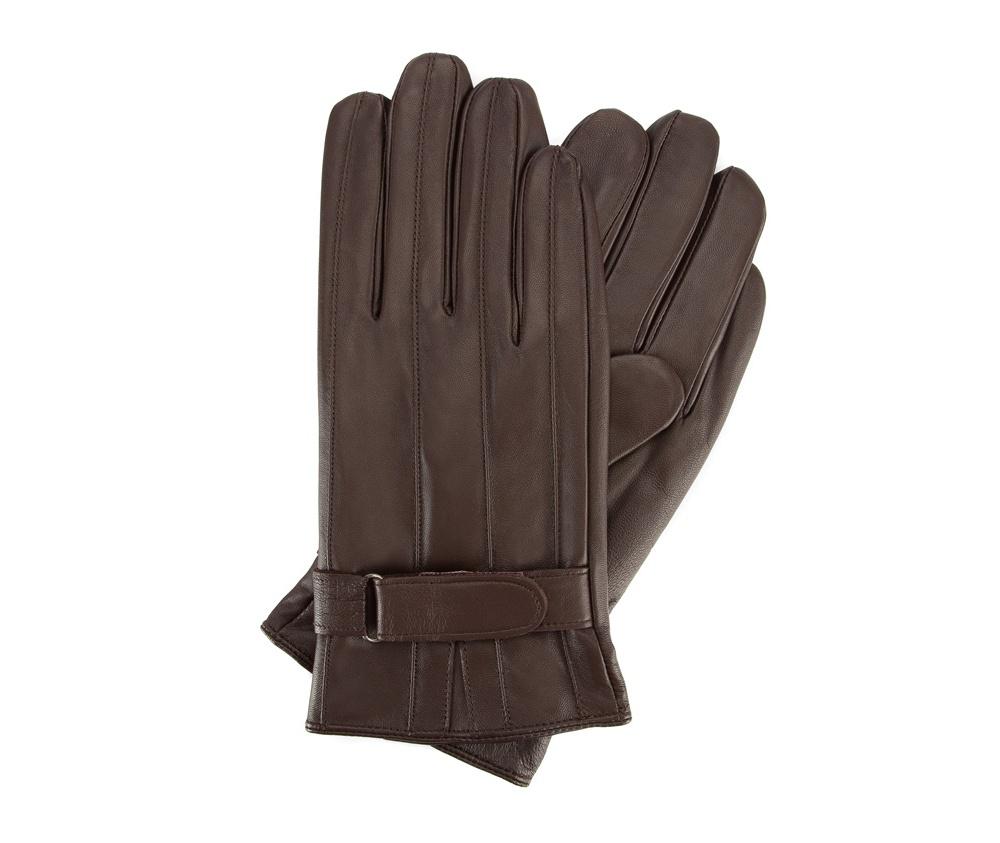 Перчатки мужские кожаныеПерчатки мужские кожаные<br><br>секс: мужчина<br>Цвет: коричневый<br>Размер INT: M<br>материал:: Натуральная кожа