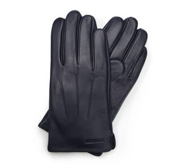 Rękawiczki męskie, granatowy, 39-6L-308-GC-S, Zdjęcie 1