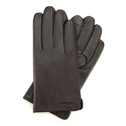 Men's gloves, dark brown, 39-6-907-BB-S, Photo 1