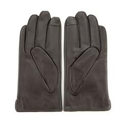 Men's gloves, dark brown, 39-6-907-BB-M, Photo 1