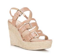 Women's sandals, beige, 88-D-750-9-36, Photo 1