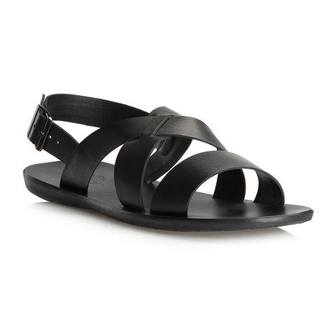 Sandały męskie, czarny, 80-M-910-1-39, Zdjęcie 1