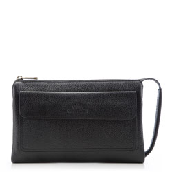 Wrist bag, black, 17-3-375-1, Photo 1